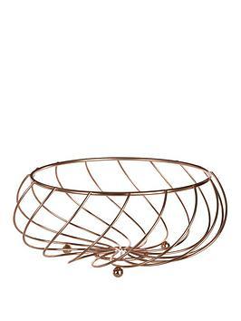 Premier Housewares Premier Housewares Metal Wire Kuper Fruit Basket Picture