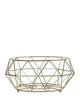Premier Housewares Premier Housewares Iron Wire Vertex Fruit Basket Picture