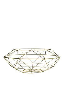 Premier Housewares Premier Housewares  Iron Wire Vertex Fruit Basket  ... Picture