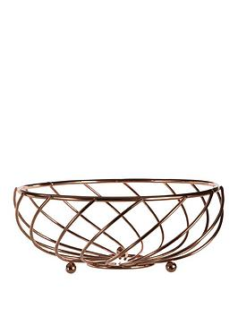 Premier Housewares Premier Housewares Metal Wire Kuper Wire Fruit Basket Picture
