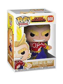 Pop! Pop! Pop Animation Mha S3 All Might Golden Age Picture