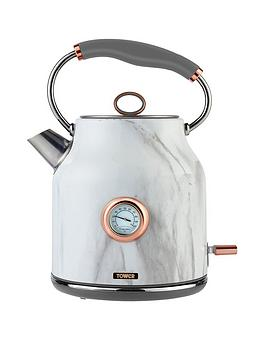 Tower Tower 3Kw1.7L Stainless Steel Kettle - Marble Rose Gold Picture