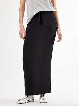 dorothy-perkins-dorothy-perkins-jersey-maxi-skirt-black