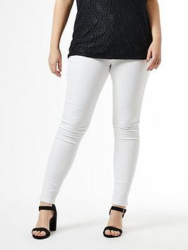 Dorothy Perkins Dorothy Perkins Curve Shape And Lift Jeans - White Picture