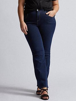 dorothy-perkins-curve-ellis-bootcut-jeans-indigo