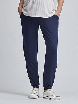 Dorothy Perkins Dorothy Perkins Maternity Overbump Joggers - Navy Picture