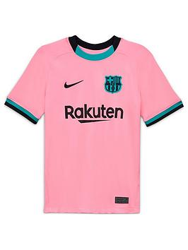 nike-youth-barcelona-2021-third-short-sleeved-stadium-jersey-pink