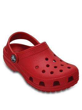 Crocs Crocs Classic Clog Slip On - Red Picture