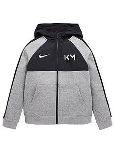 nike-junior-kylian-mbappeeacute-hoodie-grey