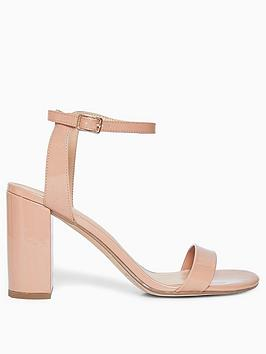 Dorothy Perkins Dorothy Perkins Shimmer Heeled Sandals - Nude Picture