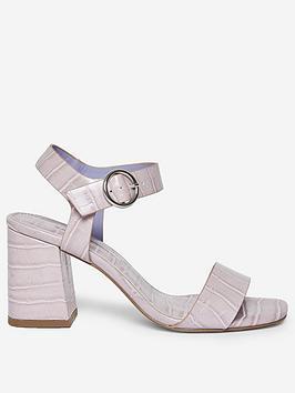 Dorothy Perkins  Scorpio Crocodile Sandals - Lilac
