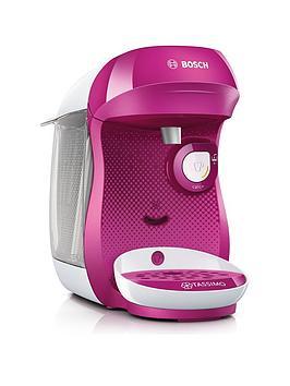 Tassimo Tassimo Tas1001Gb Happy Pod Coffee Machine - Pink Picture