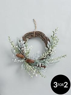 eucalyptus-half-wreath
