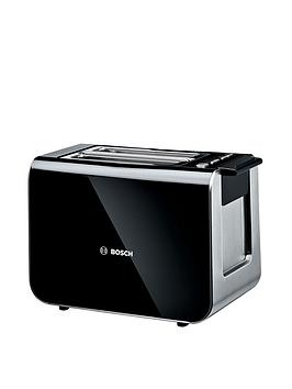 Bosch   Tat8613Gb Styline Toaster - Black