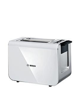 Bosch   Tat8611Gb Styline Toaster - White