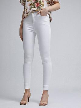 Dorothy Perkins Dorothy Perkins Shape And Lift Skinny Jeans - White Picture