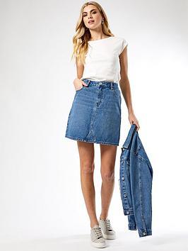 Dorothy Perkins Dorothy Perkins Denim Mini Skirt - Indigo Picture