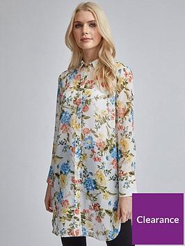 dorothy-perkins-floral-chiffon-shirt-ivory-lemon