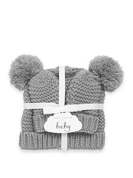 Katie Loxton Katie Loxton Baby Hat &Amp; Mitten Gift Set Picture