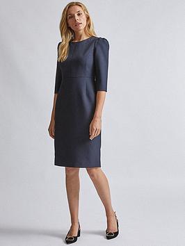 Dorothy Perkins Dorothy Perkins Short Sleeve Dress - Navy Picture