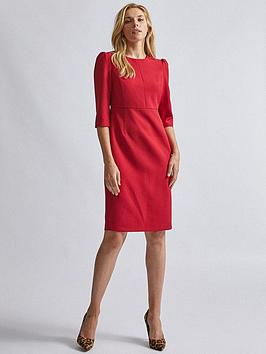 Dorothy Perkins Dorothy Perkins Short Sleeve Dress - Red Picture