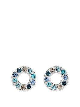 radley-blue-rainbow-stud-earrings