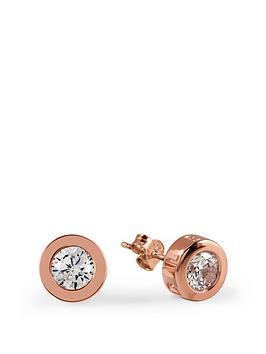 radley-rose-gold-crystal-stud-earrings