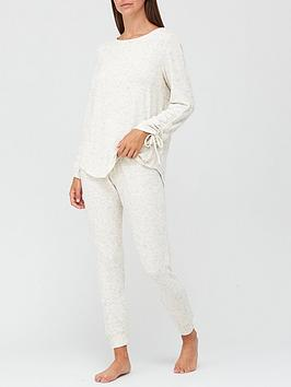 v-by-very-premium-ruched-sleevenbsp-lounge-set-oatmeal