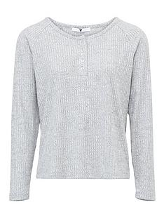 v-by-very-mix-amp-match-henley-rib-long-sleeve-pyjama-top-grey-marl
