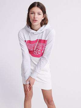 Superdry Superdry Track &Amp; Field Sweat Dress - Pink Picture