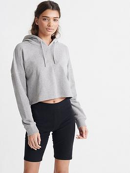 superdry-valley-crop-hoodie-grey