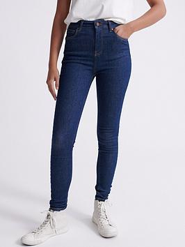 Superdry Superdry High Rise Skinny Jeans - Blue Picture