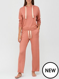 v-by-very-lurex-trim-hooded-lounge-set-rose-pink
