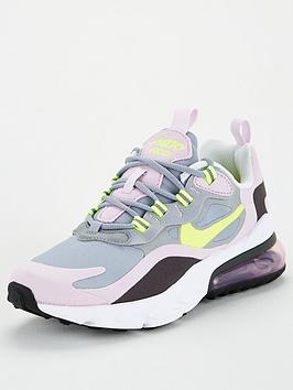 nike-air-max-270-react-gs-junior-trainer-greyblack