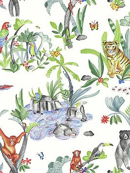 ARTHOUSE  Arthouse Jungle Mania Wallpaper