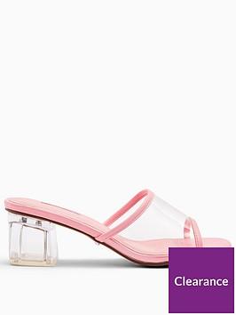 topshop-dusty-perspex-mule-shoe-pink