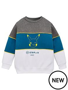 pokemon-boys-colourblock-sweatshirt-multi