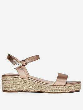 Dorothy Perkins Dorothy Perkins Rhianna Espadrille - Rose Gold Picture