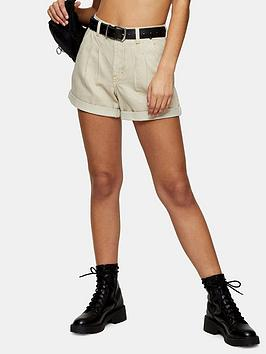 Topshop Topshop Balloon Shorts - Sand Picture