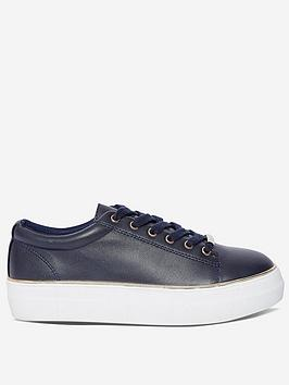 Dorothy Perkins Dorothy Perkins Ignite Trainers - Navy Picture