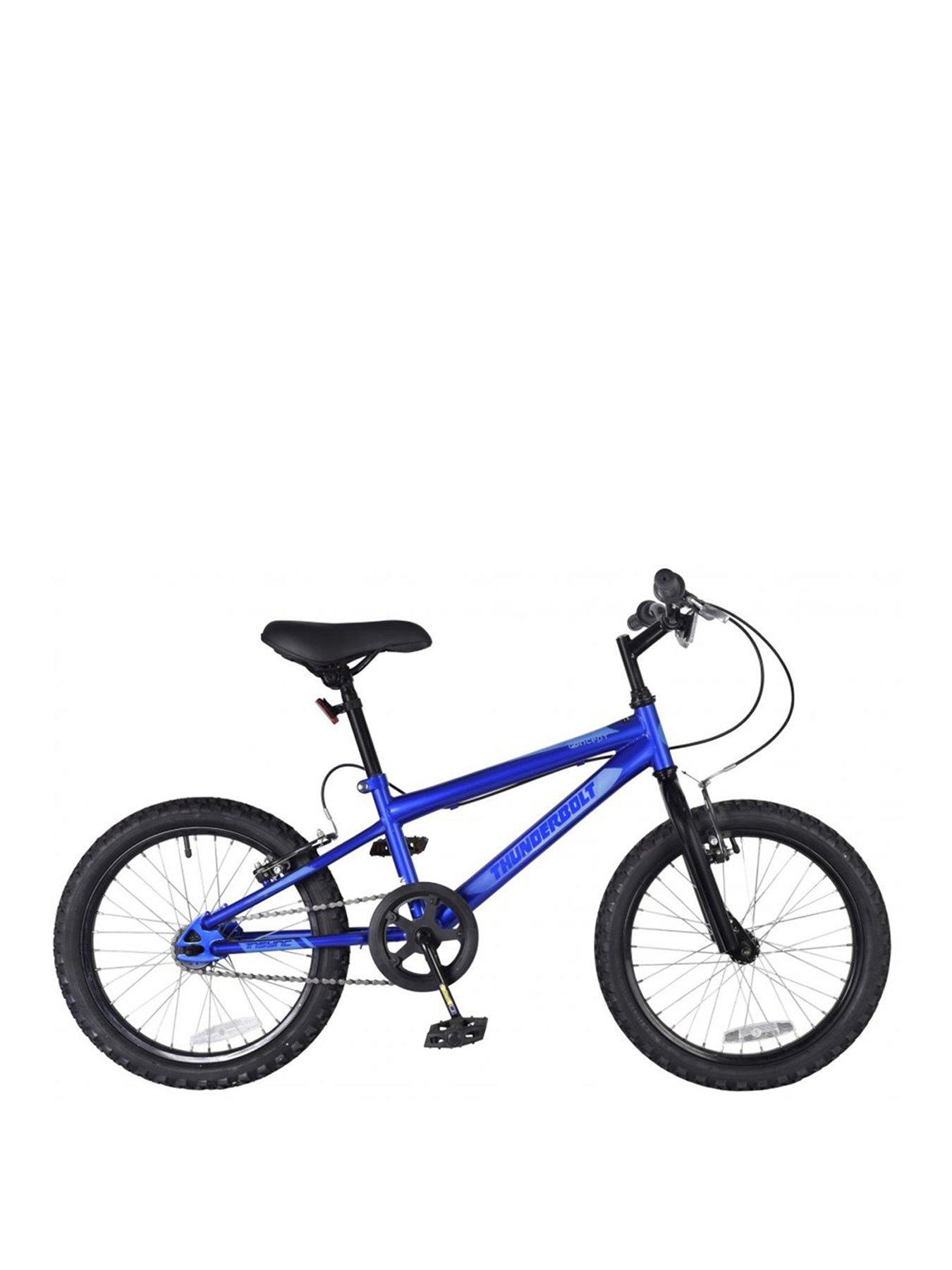 Rooster Core 9.5 Frame 18 Wheel Boys BMX Bike Blue