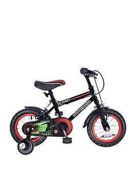 Concept   Striker Boys 9 Inch Frame 16 Inch Wheel Bike Black