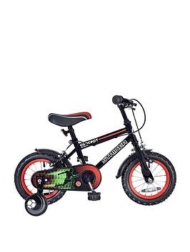 Concept Concept Concept Striker Boys 7 Inch Frame 12 Inch Wheel Bike Black Picture