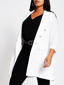 ri-plus-longline-blazer-white