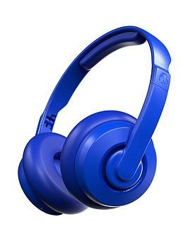 Skullcandy Skullcandy Cassette Wireless On-Ear Headphones - Cobalt Blue Picture