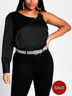 ri-plus-one-shoulder-top-black