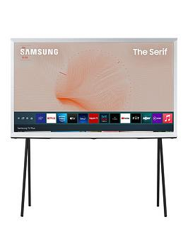 Samsung Samsung The Serif 43 Inch, Qled, 4K Ultra Hd, Ambient Mode, Hdr,  ... Picture