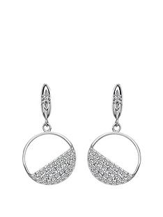 hot-diamonds-hot-diamonds-horizon-white-topaz-circle-earrings