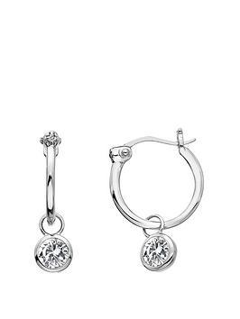 Hot Diamonds Hot Diamonds White Topaz Drop Earrings Picture