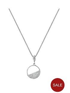 hot-diamonds-hot-diamonds-horizon-white-topaz-circle-pendant